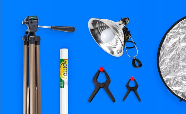 Outfitting your Photo Studio for under $100